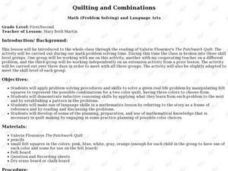 QUILTING AND COMBINATIONS Lesson Plan