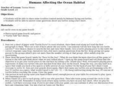 Humans Affecting the Ocean Habitat Lesson Plan