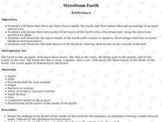 Styrofoam Earth Lesson Plan