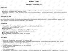 Fossil Fun! Lesson Plan