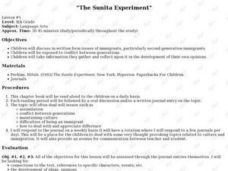 The Sunita Experiment Lesson Plan