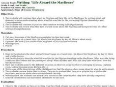 "Writing: ""Life Aboard the Mayflower"" Lesson Plan"