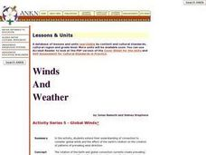 Global Winds Lesson Plan