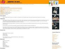 Many Chairs, One Table Lesson Plan