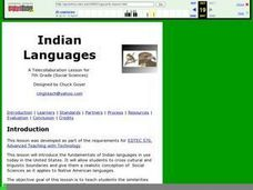 Indian Languages Lesson Plan