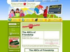 The ABCs of Friendship Lesson Plan