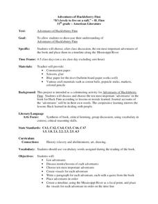Adventures of Huckleberry Finn Lesson Plan