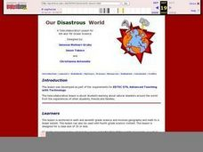 Our Disastrous World Lesson Plan