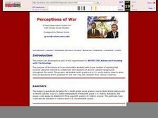 Perceptions of War Lesson Plan