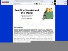 Gasoline Use Around the World Lesson Plan