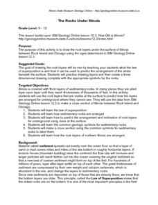 The Rocks Under Illinois Lesson Plan
