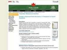 Design a National Park Brochure: A Template to Assist Students Lesson Plan