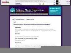 Performances and Presentations on the Blues Lesson Plan