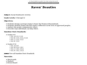 Raven Beauties Lesson Plan