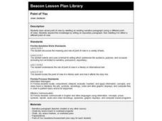 Point of You Lesson Plan