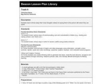Trash It Lesson Plan