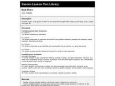 Book Share Lesson Plan