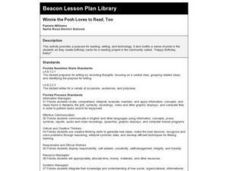 Winnie the Pooh Loves to Read, Too Lesson Plan
