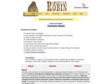 American Robin:  Territory Study Lesson Plan