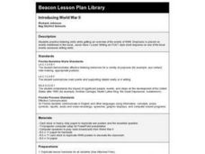 Introducing World War II Lesson Plan