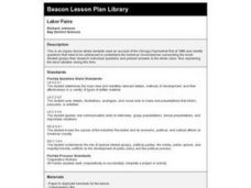 Labor Pains Lesson Plan