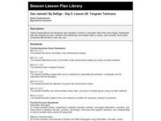 Tangram Tantrums Lesson Plan