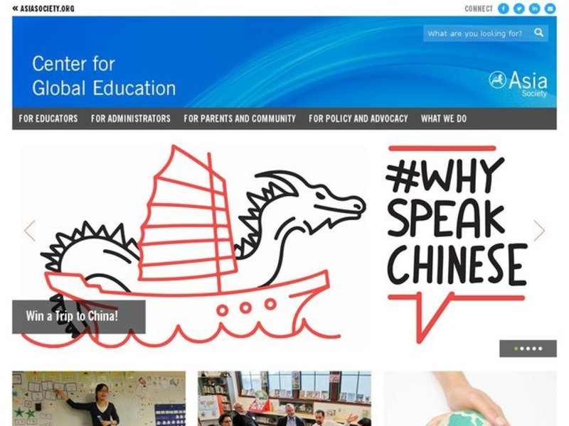 Geography and Culture of China Lesson Plan
