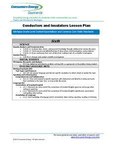 Conductors and Insulators Lesson Plan