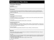 Information Sensation! Lesson Plan
