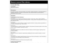 In Line with Time Lesson Plan