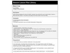 Match It Up! Lesson Plan