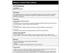 Artfully Speaking Lesson Plan