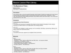 The Mysteries of Twins Lesson Plan