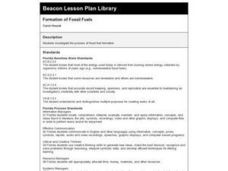 Formation of Fossil Fuels Lesson Plan