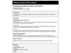 Interpreting Language Arts, Health, and Visual Art Lesson Plan
