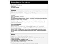 Wheels and Rainbows Lesson Plan