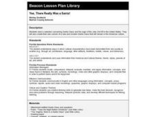 Yes, There Really Was a Santa! Lesson Plan