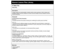 It Takes Two Lesson Plan