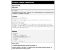 Sports for All Lesson Plan