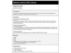 Fiddlin' Around Lesson Plan