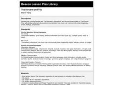 The Sorcerer and You Lesson Plan