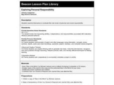 Exploring Personal Responsibility Lesson Plan