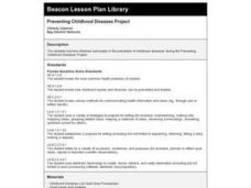 Preventing Childhood Diseases Project Lesson Plan