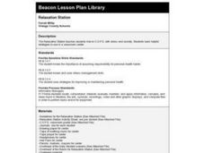 Relaxation Station Lesson Plan