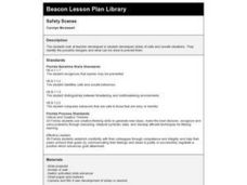 Safety Scenes Lesson Plan