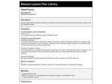 Salad Factory Lesson Plan