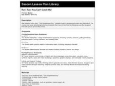 Run! Run! You Can't Catch Me! Lesson Plan