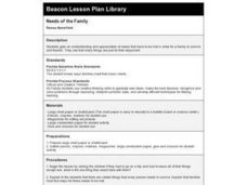 Needs of the Family Lesson Plan