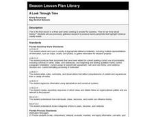 A Look Through Time Lesson Plan