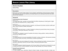 America Doubled Lesson Plan